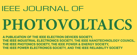 IEEE Journal of Photovoltaics